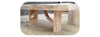 Larch table