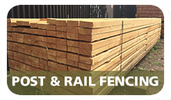 Cottenham Sawmills Ltd Larch Post and Rail Fencing