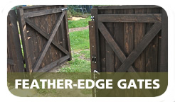 Cottenham Sawmills Ltd Feather-edge gate