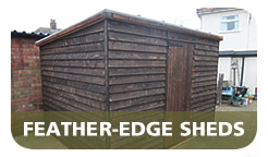 Cottenham Sawmills Ltd Larch Feather-edge Sheds