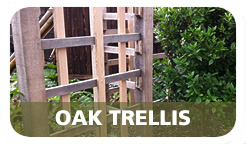 Cottenham Sawmills Ltd Bespoke oak trellis
